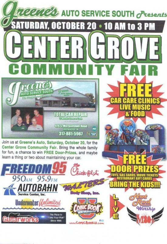 Greene S Auto Service South Hosting Center Grove Community