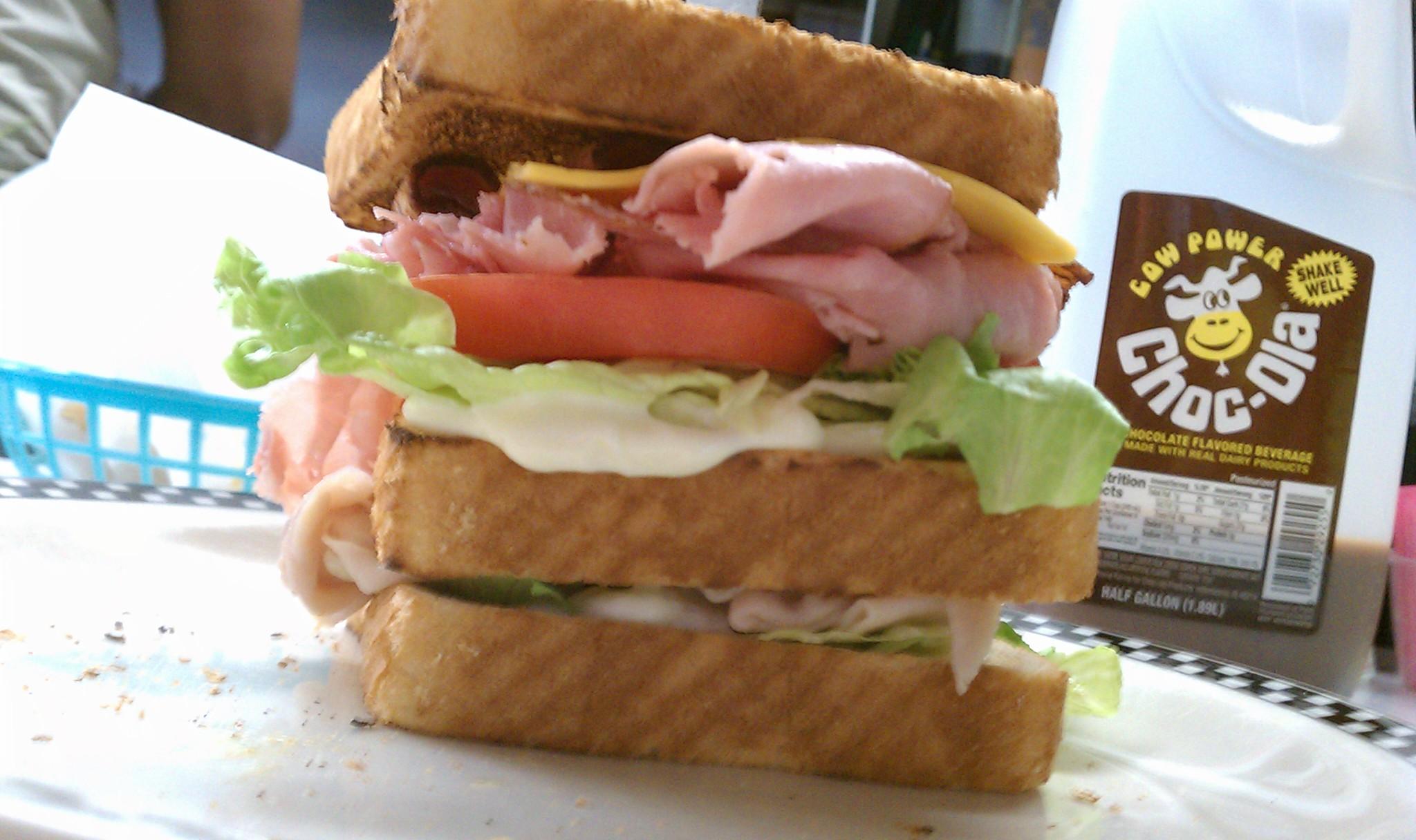 Rock Cola Mile High Club Sandwich - Super 46 Sandwich Conference Champion
