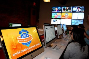 Superbowl XLVI Social Media Command Center - AroundIndy.com